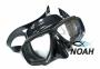 Маска Beuchat Mundial черная для подводной охоты 0