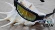 Очки CRESSI солнцезащитные плавающие NINJA FLOATING,  оранжевые зеркальные стёкла 3