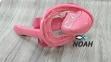 Полнолицевая детская маска Verus Free Breath KID для плавания, розовая 0