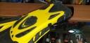 Ласты с открытой пяткой Zelart ZP-451 для плавания, желтый 4