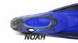 Ласты с закрытой пяткой Zelart ZP-439 для плавания, цвет синий 6
