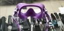 Маска Cressi F1 Frameless Lilac для плавания 2