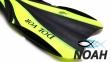 Ласты Dolvor F30 для плавания и дайвинга с открытой пяткой, желтые 2