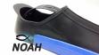 Ласты INTEX с закрытой пяткой для плавания, цвет синий 5