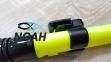 Трубка двухклапанная MARLIN Dry Max для подводного плавания (прямая гофра, цвет желтый) 4