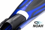 Ласты Marlin Scuba синие, открытая пятка с пружиной 4