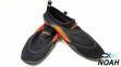 Коралловые тапочки Beco Black-Orange 0