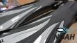 Ласты Dolvor F30 для плавания и дайвинга с открытой пяткой, серые 3