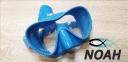 Маска Verus F1 DUO Blue для плавания, синяя 0