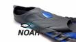 Ласты с закрытой пяткой Zelart ZP-444 для плавания, цвет черный 6