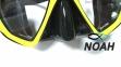 Маска Bare Duo черно-желтая 2