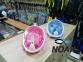 Маска Полнолицевая Bs Diver Free Breath Pink для снорклинга, розовая 1
