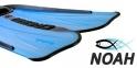 Ласты Cressi Rondinella для плавания, аквамарин 3