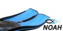 Ласты Cressi Rondinella для плавания, аквамарин 4