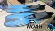 Ласты Seac Sub Speed для плавания, голубые 0
