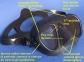 Маска Cressi Calibro для подводной охоты, синяя 4