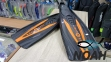 Ласты AquaLung Express с закрытой пяткой (черно-оранжевые) 6