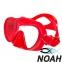 Маска Marlin Frameless Duo Red Coral для плавания 2