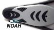 Ласты с закрытой пяткой Zelart ZP-443 для плавания, цвет серый 6