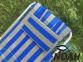 Кресло-шезлонг Ясень d20 мм текстилен сине-жёлтый (7134) 7