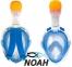 Маска Easybreath Tribord для снорклинга, синяя 7