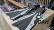 Ласты Dolvor F30 для плавания и дайвинга с открытой пяткой, серые 0