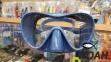 Маска Verus F1 Frameless Blue для плавания 4