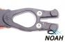 Нож SARGAN Сталкер-Стропорез Z1 с покрытием синий камуфляж для подводной охоты 0
