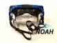 Маска Intex 55982 для плавания и дайвинга с панорамными стеклами (синяя) 4