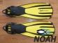 Ласты Mares Avanti Quattro + с открытой пяткой для плавания, цвет желтый 7
