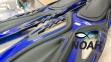 Ласты BS Diver GlideFin для снорклинга с открытой пяткой, синие 3
