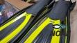 Ласты BS-Diver Hydro-Channel для снорклинга с открытой пяткой, желтые 3