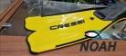 Ласты Cressi Rondinella yellow для плавания 1