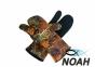 Перчатки Marlin трехпалые Nord Brown 7 мм для подводной охоты 0
