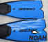 Ласты Cressi Rondinella Blue для плавания 11