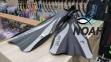 Ласты Dolvor F30 для плавания и дайвинга с открытой пяткой, серые 5