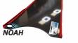 Лопасти Leaderfins Stereoblades Waves CARBON (сэндвич карбон) Soft 5