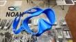 Маска Cressi F1 Frameless Blue для плавания 0