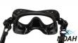 Маска Verus F1 Frameless Black для плавания 3