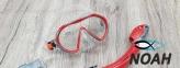 Детская маска Marlin Joy,  серо-красная 3
