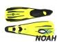 Ласты Aqua Lung Wind с закрытой пяткой (желтые) 0