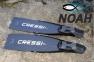 Ласты Cressi Gara Modular Nery для подводной охоты 0