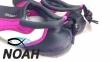 Тапочки для кораллов Brugi Pink неопреновые с силиконовой подошвой (Аквашузы) 3