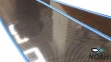 Лопасти Leaderfins Stereoblades Waves CARBON (сэндвич карбон) Hard 4