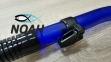Трубка Marlin Dry Top Blue для подводного плавания 3
