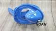 Полнолицевая детская маска Verus Free Breath KID для плавания, синий 0