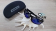 Очки CRESSI солнцезащитные MORFEO SHINY BLACK BLUE MIRRORED (made in Italy),  зеркальные синие 7