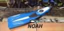 Ласты AquaLung Express с закрытой пяткой, синие 5