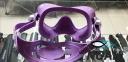 Маска Cressi F1 Frameless Lilac для плавания 4
