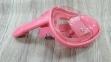 Полнолицевая детская маска Verus Free Breath KID для плавания, розовая 3